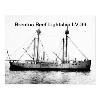 Brenton Reef Lightship LV-39 Postcards