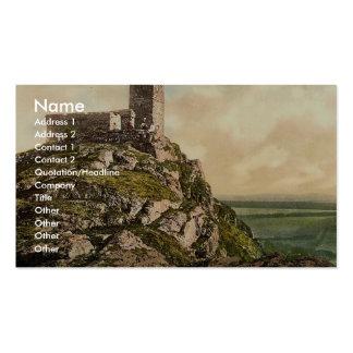 Brentor, Dartmoor, England rare Photochrom Business Card