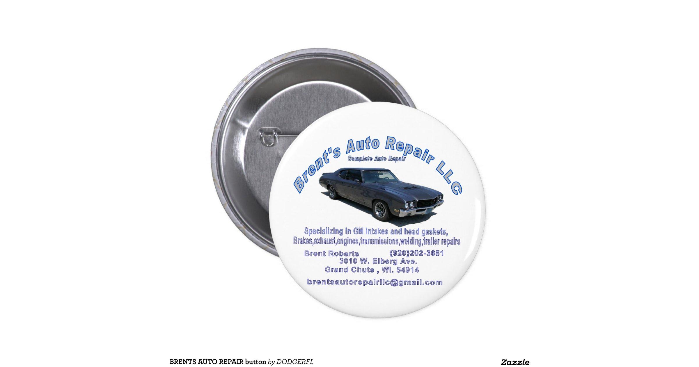 brents auto repair button
