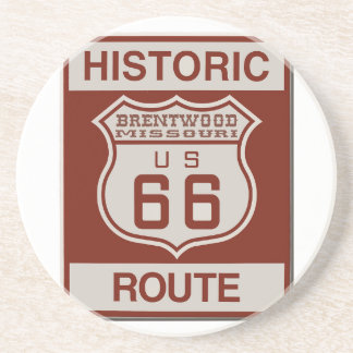 BRENTWOOD66 DRINK COASTER