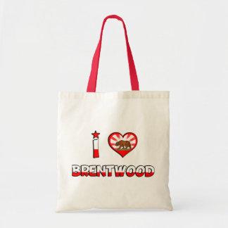 Brentwood, CA Tote Bag