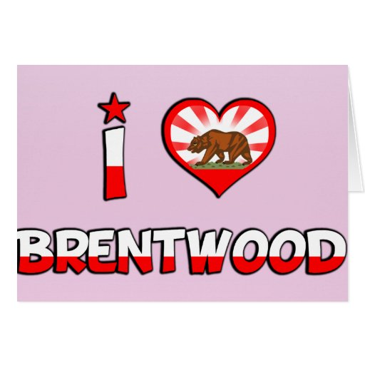 Brentwood, CA Greeting Cards