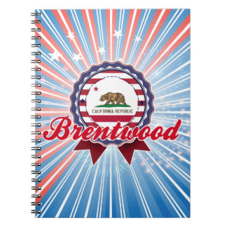 Brentwood CA Note Book