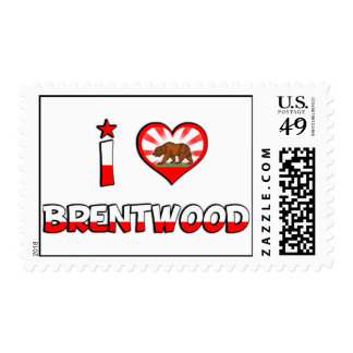 Brentwood, CA Stamps