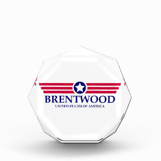 Brentwood CA Pride Acrylic Award