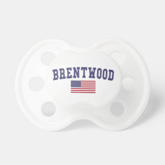 Brentwood CA US Flag Pacifier