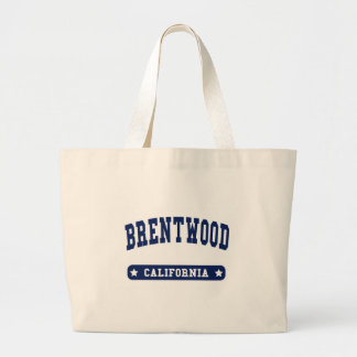 Brentwood California College Style t shirts Canvas Bag