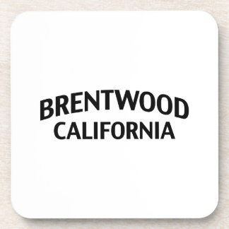 Brentwood California Drink Coaster