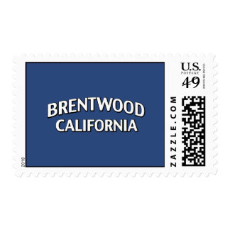 Brentwood California Stamps
