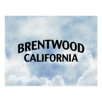Brentwood California Postcard