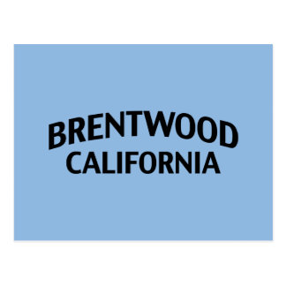 Brentwood California Postcards
