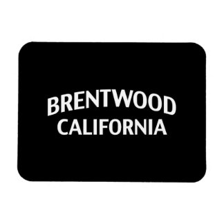 Brentwood California Rectangle Magnets