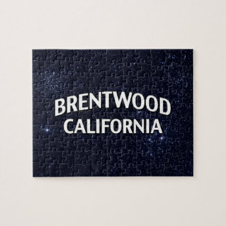 Brentwood California Jigsaw Puzzle