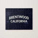 Brentwood California Puzzle Con Fotos
