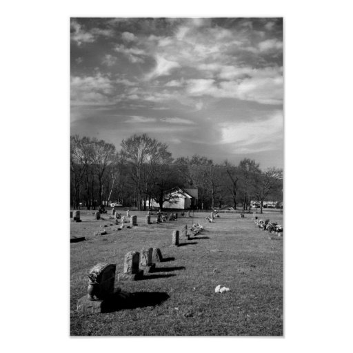 Brentwood Cemetery Poster
