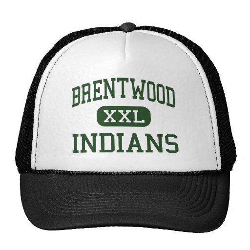 Brentwood - indios - alto - Brentwood Nueva York Gorras De Camionero