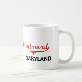 Brentwood Maryland City Classic Mugs