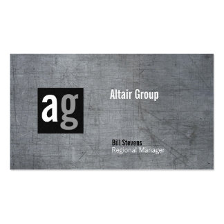 Brentwood Metal Business Card