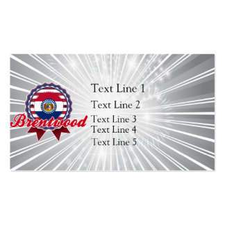 Brentwood MO Business Card