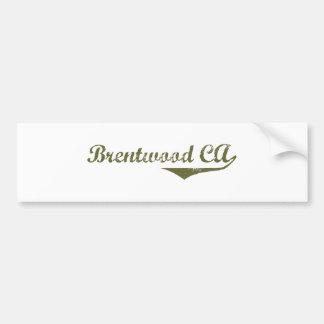 Brentwood Revolution t shirts Car Bumper Sticker