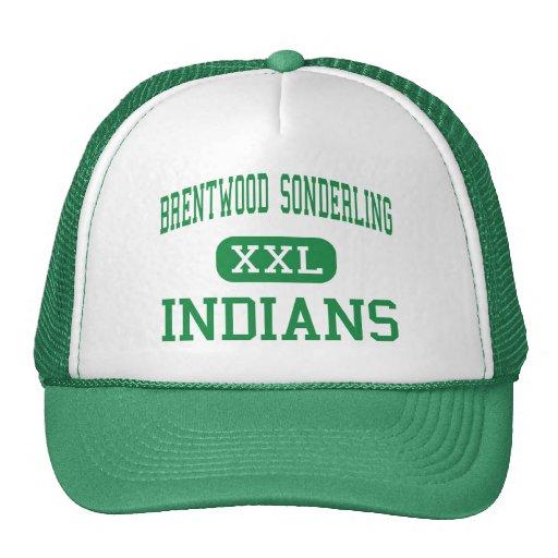 Brentwood Sonderling - indios - alto - Brentwood Gorros Bordados