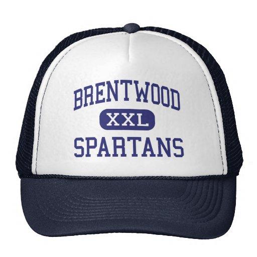 Brentwood - Spartans - altos - Pittsburgh Gorro De Camionero