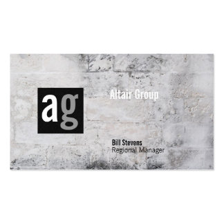 Brentwood Stone Business Card