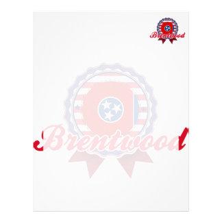 Brentwood TN Customized Letterhead