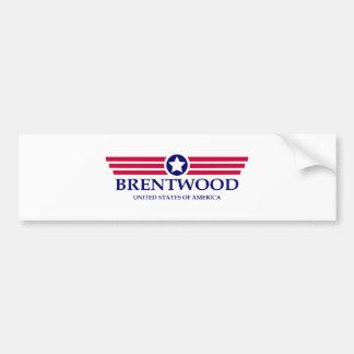 Brentwood TN Pride Car Bumper Sticker