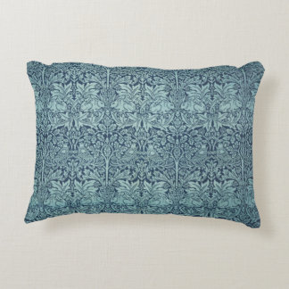 Brer Rabbit by William Morris, Textile Pattern Accent Pillow