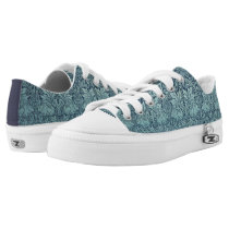 Brer Rabbit by William Morris, Textile Pattern Low-Top Sneakers