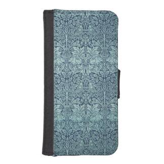 Brer Rabbit William Morris Antique Textile Pattern Phone Wallet