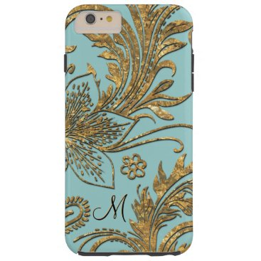 Breselcoucant by the Sea 6/6s Elegant Floral Plus Tough iPhone 6 Plus Case