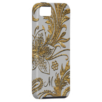 Breselcoucant Dove  Elegant Floral Monogram iPhone SE/5/5s Case
