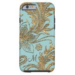 Breselcoucant por el floral elegante del mar funda de iPhone 6 tough