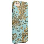 Breselcoucant por el floral elegante del mar más funda de iPhone 6 plus tough