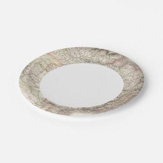 Bresil - Brazil Paper Plate