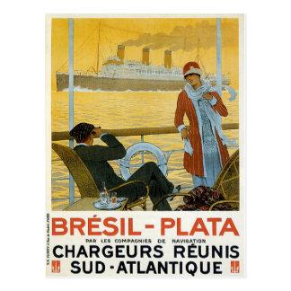 Bresil - Plata Postcard