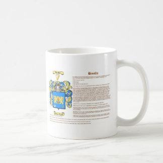 breslin (escudo de armas con el significado) taza de café