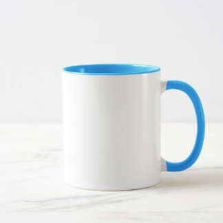 Breslov Woman Mug for Coffee or Tea in Torquoise
