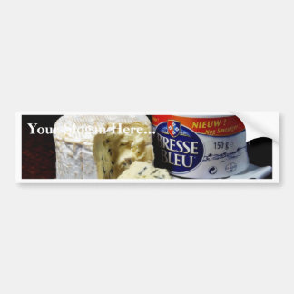 Bresse Bleu Cheese Bumper Sticker