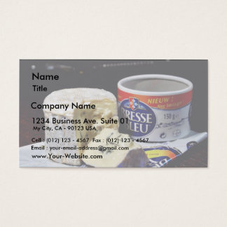 Bresse Bleu Cheese Business Card