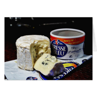 Bresse Bleu Cheese Card