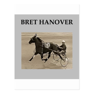 bret hanover harness racing post cards