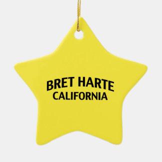 Bret Harte California Ornament