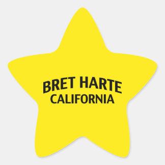 Bret Harte California Star Sticker