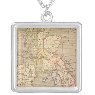 Bretagne Anglo Saxonne, 600 ans apres Jesus Christ Silver Plated Necklace