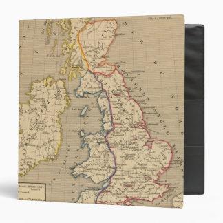 Bretagne Anglo Saxonne, 800 ans apres JC 3 Ring Binder