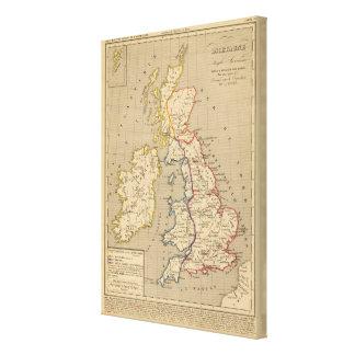 Bretagne Anglo Saxonne, 800 ans apres JC Canvas Print