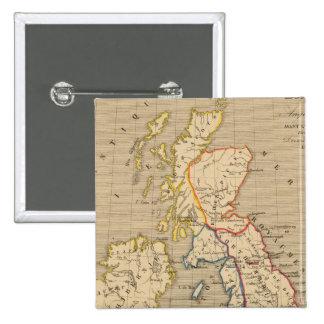 Bretagne Anglo Saxonne, 800 ans apres JC Pinback Button